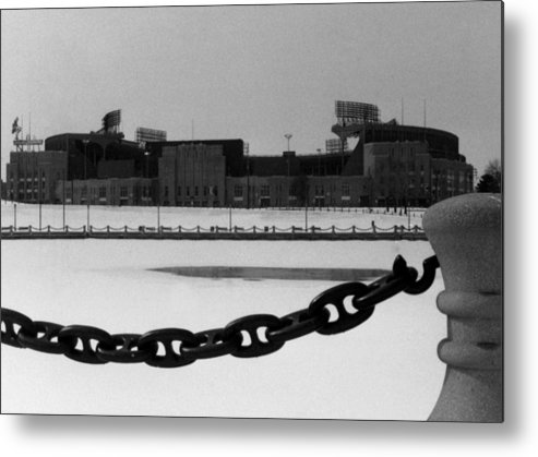 Cleveland Metal Print featuring the photograph Still Standing by Kenneth Krolikowski
