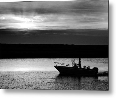 Sunset Metal Print featuring the photograph Sunset Cruise by William Haney