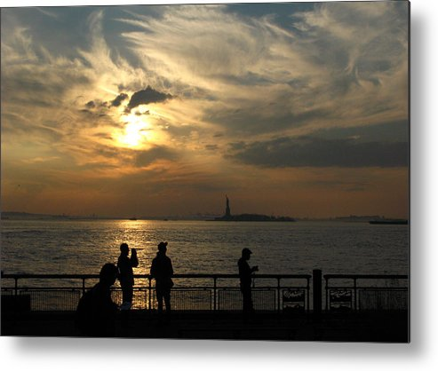 Sunset Metal Print featuring the photograph Sunset On The Upper Bay by Robert McCulloch