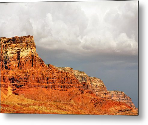 Vermilion Cliffs Metal Print featuring the photograph The Condor's Land by Christine Till