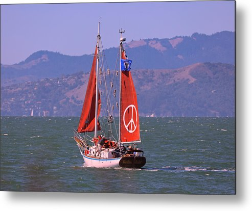 Boat Metal Print featuring the photograph The Golden Rule by DUG Harpster