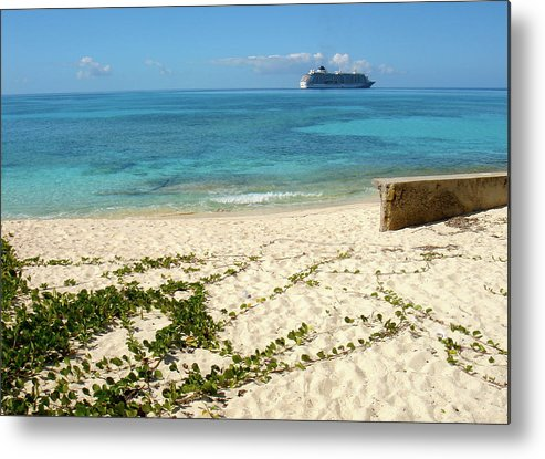 Turks And Caicos Metal Print featuring the photograph The World In Turks And Caicos by Jessica Estrada