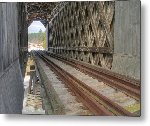 Bridge Metal Print featuring the photograph Through The Fisher by James Walsh