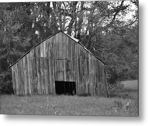 Barn Metal Print featuring the photograph Tilting by Eric Liller