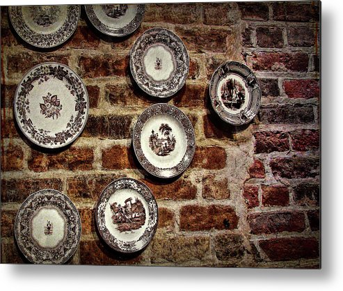 Tiole Metal Print featuring the photograph Tiole Plates by JAMART Photography