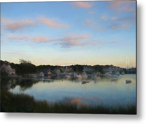 Water Metal Print featuring the photograph Wrentham Sunset by JAMART Photography