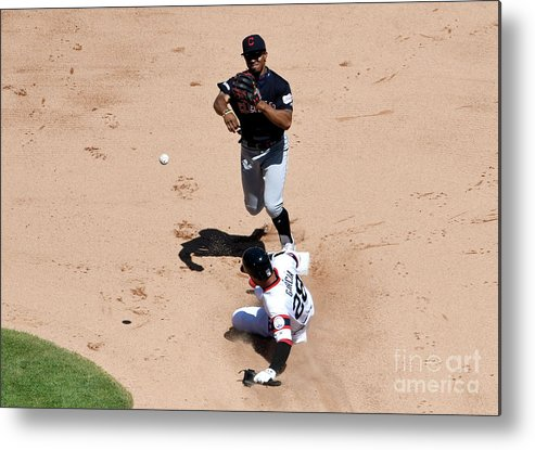 People Metal Print featuring the photograph Francisco Lindor by David Banks