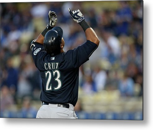 People Metal Print featuring the photograph Nelson Cruz by Stephen Dunn