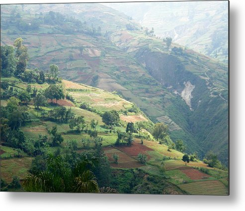 Haiti Metal Print featuring the photograph Country Beauty by Patricia Kantrowitz