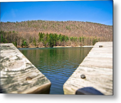 Metal Print featuring the photograph Cowan's Gap 1 by Becky Anders