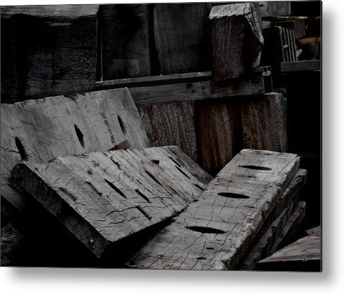 Disorder Metal Print featuring the photograph Disorder by Odd Jeppesen