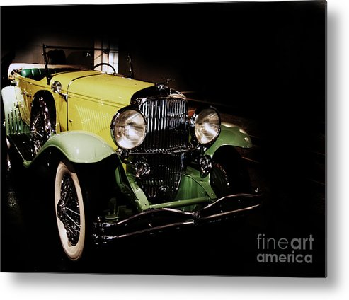 Duesenberg Metal Print featuring the photograph Duesenberg 1931 by Christiane Schulze Art And Photography