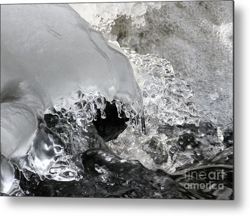Ice Metal Print featuring the photograph Icy Water by Emma England