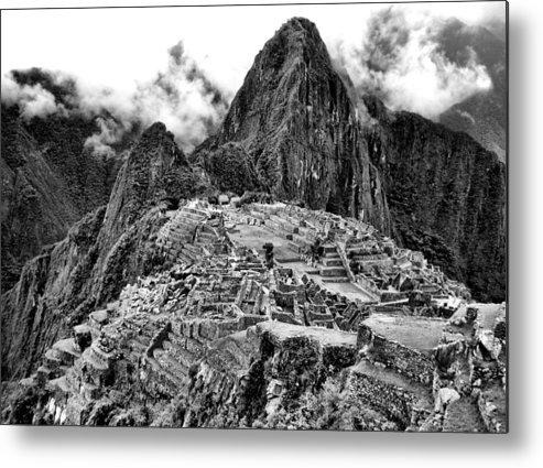 Macchu Picchu Metal Print featuring the photograph Macchu Picchu by Alexander Graybar