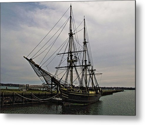 Ship Metal Print featuring the photograph Ship by DVP Artography
