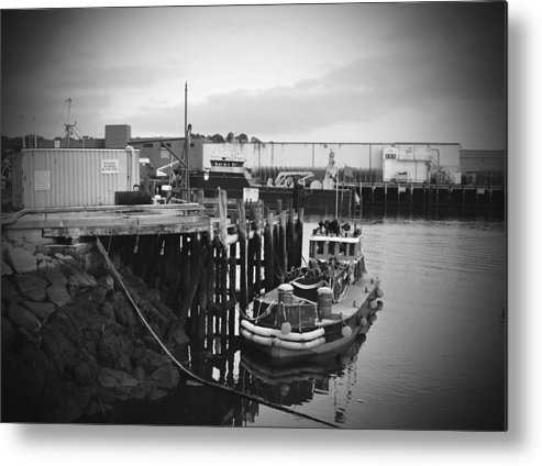 Boat Metal Print featuring the photograph Done For The Day by Brittany Horton
