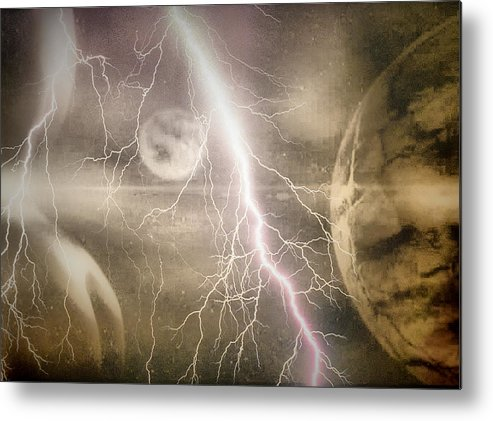 People Metal Print featuring the digital art Frequence by Beto Machado
