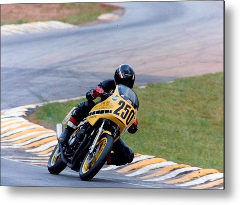 Sportsbike Metal Print featuring the photograph In It To Win It... by Tanya Tanski