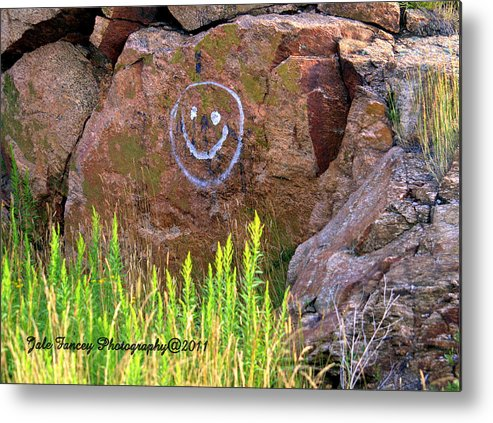 Photography Metal Print featuring the photograph On A Happy Day by Jale Fancey