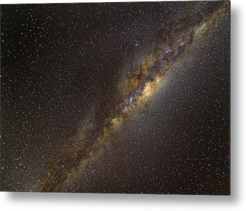 Horizontal Metal Print featuring the photograph The Milky Way by Picture by Tambako the Jaguar