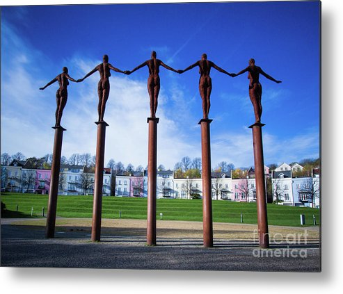 Portishead Metal Print featuring the photograph Arc Of Angels Portishead by Martin Waters