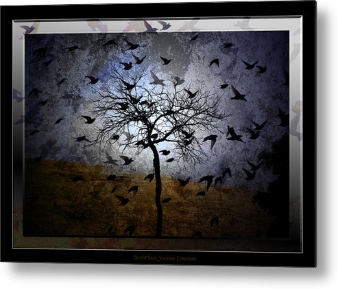 Myth Metal Print featuring the photograph Birthplace by Yvonne Emerson