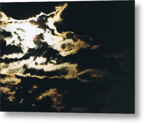 Moonlight Metal Print featuring the photograph Cloudscape I by Curtis Schauer