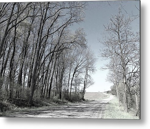 Country Metal Print featuring the photograph Country Road by Monnie Ryan