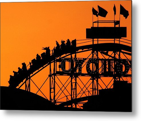 Cyclone Metal Print featuring the photograph Cyclone by Mitch Cat