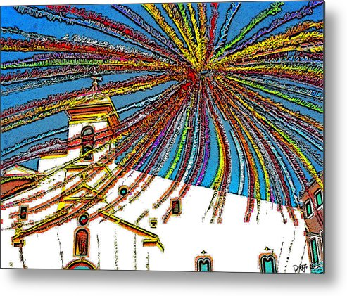 Metal Print featuring the photograph Decked Out For Fiesta by Dee Flouton