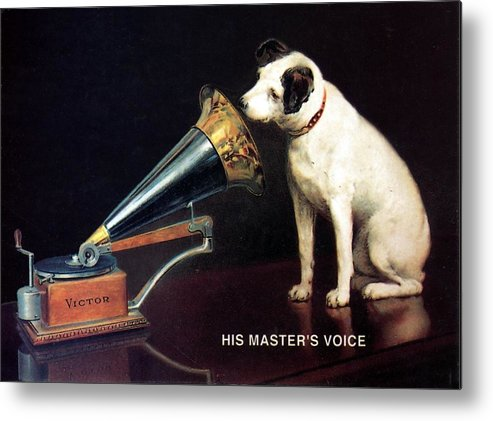 His Master's Voice - Hmv - Dog...