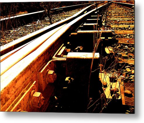 Photography Metal Print featuring the photograph Hometown Pt. 2 by Jeff DOttavio