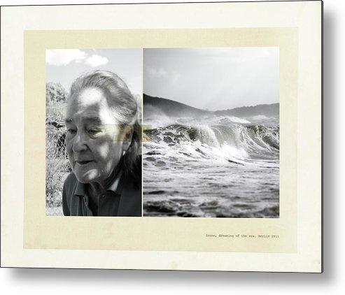 Diptych Metal Print featuring the photograph Irene by Hsien -Ku