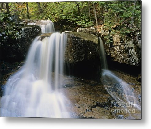 Wilderness Metal Print featuring the photograph Ledge Brook - White Mountains New Hampshire Usa by Erin Paul Donovan