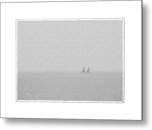 Seascape Metal Print featuring the photograph Mates by Robert Boyette