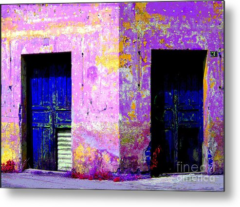 Darian Day Metal Print featuring the photograph Old Door 3 By Darian Day by Mexicolors Art Photography