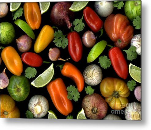 Culinary Metal Print featuring the photograph Salsa by Christian Slanec
