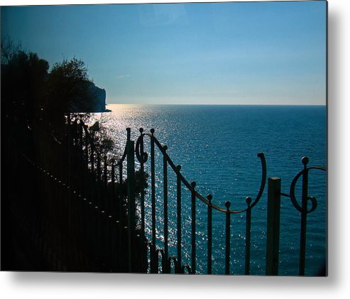 Al Bourassa Metal Print featuring the photograph Serenity In The Bay Of Naples by Al Bourassa