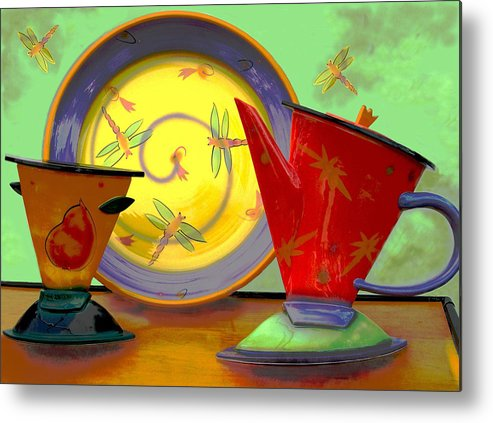 Dragonflys Metal Print featuring the photograph Still Life One by Jeff Burgess