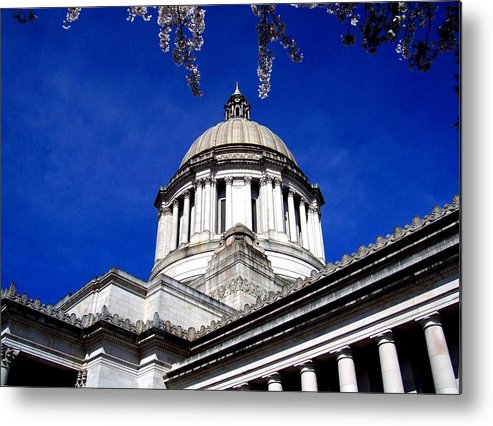 Capital Metal Print featuring the photograph The Capital by Kevin D Davis