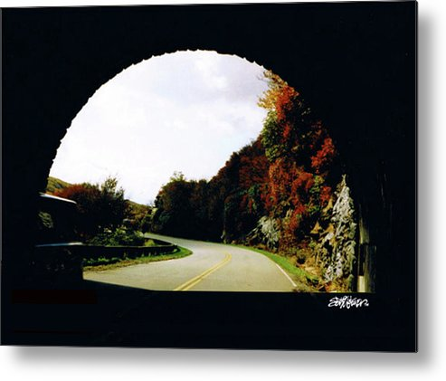 Tunnel Vision Metal Print featuring the photograph Tunnel Vision by Seth Weaver