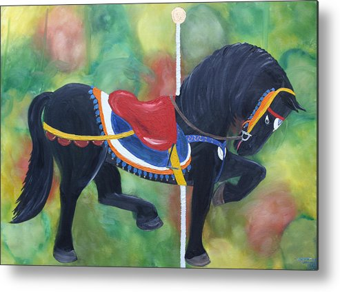 Unforgettable Metal Print featuring the painting Unforgettable Spirit by Tammy Dunn