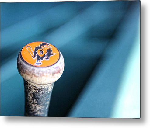 American League Baseball Metal Print featuring the photograph Baltimore Orioles V Detroit Tigers 10 by Leon Halip