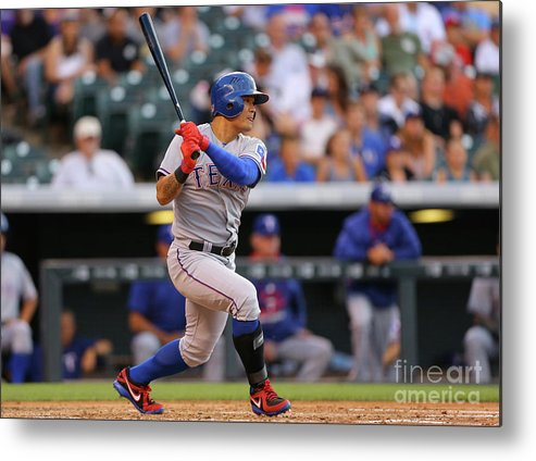 Second Inning Metal Print featuring the photograph Shin-soo Choo by Justin Edmonds