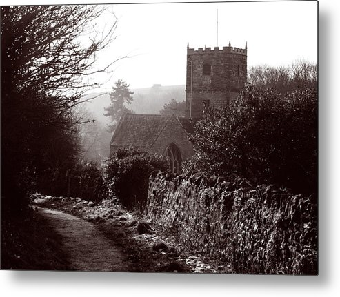 St Andrew's Church Metal Print featuring the photograph St Andrew's Church Clevedon by Rachel Down