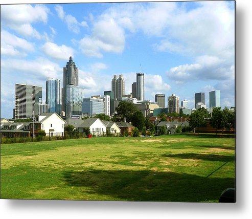 Atlanta Metal Print featuring the photograph Atlanta Ga. by Clayton Odom