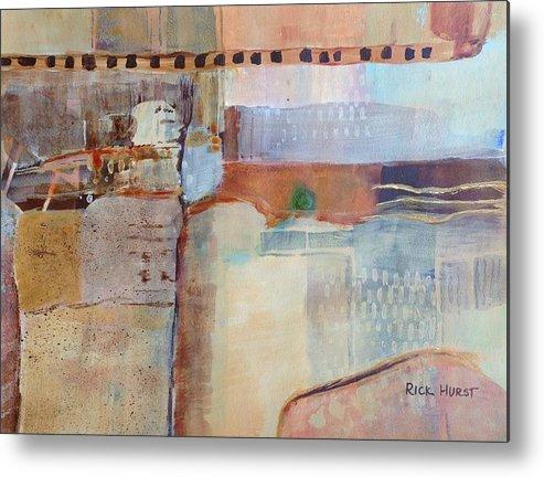 Arizona Metal Print featuring the painting Arizona Cliff Dwelling by Rick Hurst