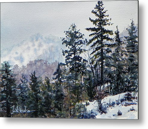 Maritime Metal Print featuring the painting Big Bear by Bill Hudson