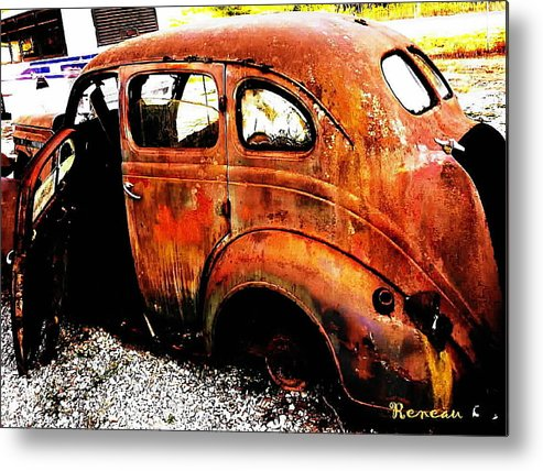 Autos Metal Print featuring the photograph Bucket Of Blood by Sadie Reneau