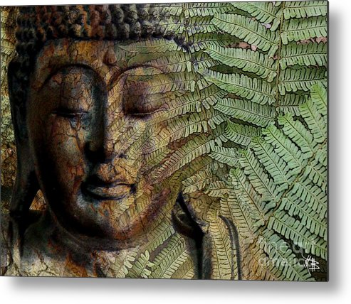 Buddha Art Metal Print featuring the photograph Convergence Of Thought by Christopher Beikmann